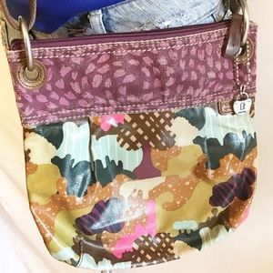 FOSSIL   Crossbody Bag Purse Key-Per
